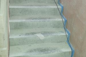Abb.2: Messung der Trittschalldämmung im untersuchten Wohnhaus in Ulm-Böfingen