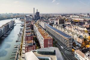 Anerkennung Architekturpreis Gebäudeintegrierte Solartechnik 2017: Aktiv-Stadthaus, Frankfurt (HHS Planer + Architekten, Kassel; EGS-plan, Stuttgart), Foto: Constantin Meyer