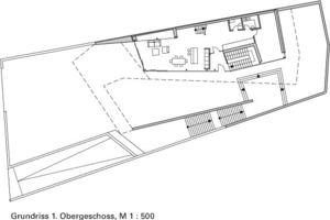 Grundriss 1.OG, M 1:500<br />