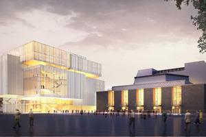 Entwurf des neuen Opernquartiers