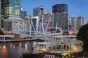 Kurilpa Bridge, Brisbane - Cox Rayner + Arup