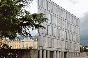 Kann besichtigt werden: die Folkwang Schule in Essen-Werden (Max Dudler)
