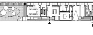 Grundriss Ebene 0, M 1:750
