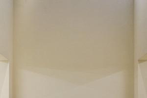 Einer des Architekten Lieblingsräume, der überraschend zwei Geschosse hohe Ausstellungsraum im UG<br />