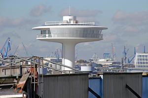 """3Mio. € teuer: """"Lighthouse Zero"""" am Baakenhöft, Hamburg"""