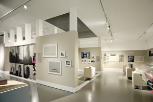 Blick in die Kramer-Ausstellung im DAM