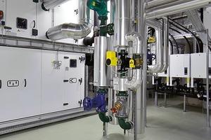 """<div class=""""13.6 Bildunterschrift"""">RLT-Geräte im Untergeschoss sorgen für saubere Luft</div>"""