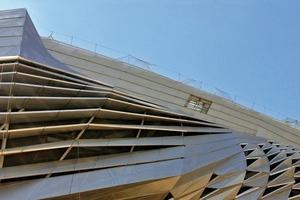 Die Fassade konnte nur dank parametrischer Planungsmethoden realisiert werden