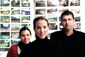 Die Architektin Tatiana Bilbao mit ihren Partnern Catia Bilbao und David Vaner