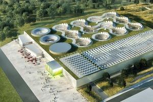 Forschungszentrum EDF, Saclay, 2010 besitzt das Haute Qualité Environnementale (HQE)<br />