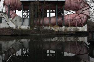 Nicht auf dem Bild links: Hausboote mitten in Berlin
