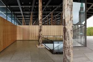 Sticks and Stones, eine Intervention in der demnächst von Chipperfield Architects sanierten Nationalgalerie