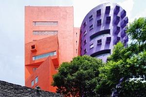 Centro Nacional de los Artes (Ricardo Legoretta, 1994)<br />