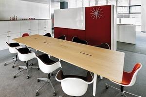Think Tanks, Meeting Points und Rückzugsflächen fördern Kommunikation und eine abwechslungsreiche Arbeitsumgebung<br />