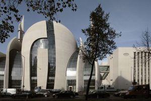 Ansicht Islamisches Kulturzentrum, Südostansicht, Innere Kanalstraße