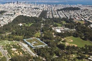 Bu 2: Die California Academy of Science befindet sich im Golden Gate Park gegenüber des de Young Museums von Herzog de Meuron