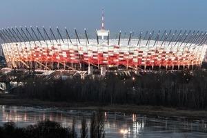 Das Nationalstadion Warschau diente als Austragungsstätte bei der Fußball EM 2012<br />