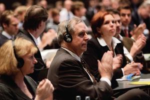 Experten aus dem In- und Ausland tauschten sich beim internationalen Kongress auf Einladung von DGNB und Messe Stuttgart aus<br />