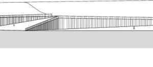 Süd-Ostansicht, M 1:1250