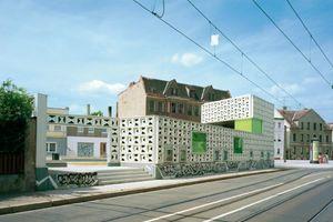 Anerkennung 2011: Freiluftbibliothek Lesezeichen Salbke, Magdeburg