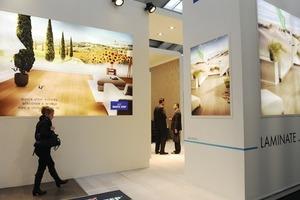 Die Domotex wirbt mit einem hohen Auslandsanteil bei Ausstellern und Besuchern<br />