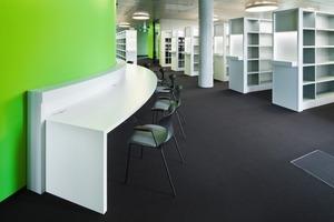 Das Innenraumkonzept wurde von der Arbeitsgemeinschaft Silvia Pappa und UKW Innenarchitekten geplant<br />