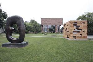 Temporärer Gast im Skulpturengarten der Kunsthalle