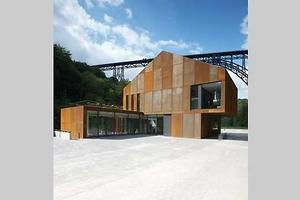 Besucherzentrum Haus Müngsten, Solingen - Tore Pape / Pool 2 Architekten, Kassel