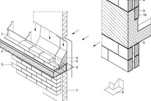 Fassadenaufbau, o.M.<br />