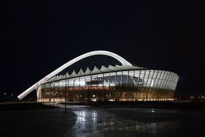 Kategorie: Internationales Projekt Projekt: Moses Mabhida Stadium, Durban Conceptlicht GmbH, Helmut Angerer