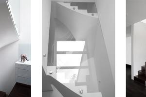 Treppe über drei Ebenen<br />