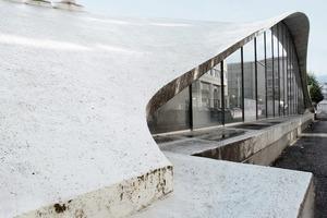Bloß aufgeschüttelt die Form? Die siebenfüßige Schale über der Sicli-Fabrikation in Genf (1969/70, Ingenieur: Heinz Isler)<br />