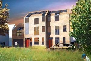 Die CarbonLight Homes in im britischen Rothwell setzen auf Energiegemeinschaften<br />