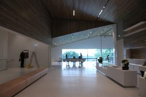 Der Blick in das Museum vom Eingang