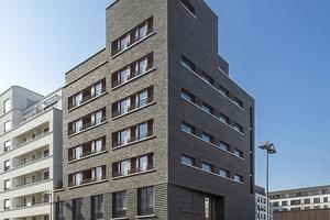 Wohnhaus mit Gemeindezentrum in EG und 1.OG, Sonderpreis 2: Frankfurt-Westhafen, von Stefan Forster Architekten, Frankfurt