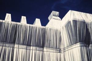 Christo und Jeanne-Claude. Reichstagsverhüllung, Berlin 1995<br />