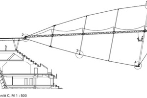 Detail Schnitt, M 1:500