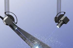 Beim Laserstrahlschweißen können einzelne Materialstreifen ohne Zusatzwerkstoffe zu einen scharfkantigen Gesamtprofil verschweißt werden