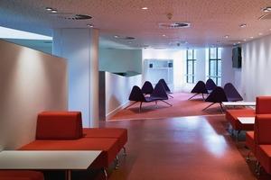 In Deutschland wohl undenkbar: Designermöbel im hochfrequentierten Jugendzentrum<br />