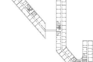 Regelgeschoss Ebene +2, M 1:1250<br />
