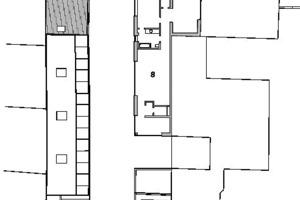 Grundriss 4. Obergeschoss, M 1:500