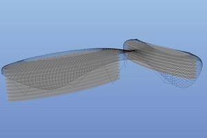 Das Stahl-Glas-Netz hat eine Gesamtfläche von 16 000 m² Tragwerksplaner Gitterschale: Schlaich Bergermann und Partner<br />