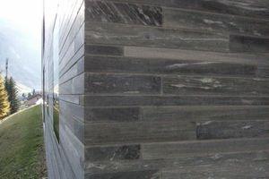 60000 Steinquader Valser Quarzit formten eine Skulptur, scheinbar für die Ewigkeit