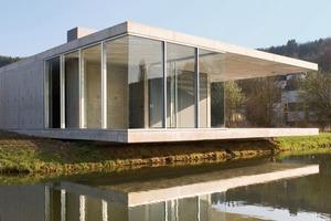 Wasserpavillon, Siegen (Shaw Architekten, Frankfurt a.M.)<br />