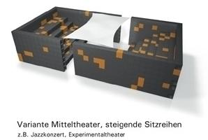"Ton-Raum-Architektur mit ""Akustik Modul"" Variante 1"