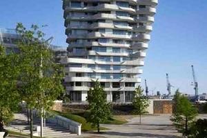 Marco Polo Tower, Hamburg - Behnisch Architekten Stefan Behnisch, David Cook, Martin Haas, Stuttgart