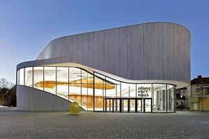 Das Montforthaus in Feldkirch wurde von HASCHER JEHLE geplant