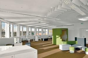 Für jede Situation automatisch das passende Licht, wie hier im Fraunhofer Institut - daran forscht OLIVE