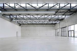 Große Ausstellungshalle: Ein zurückhaltender Raum für Messen
