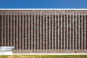 """Winner Silver in der Kategorie """"Büro- und Gewerbebauten"""": Projekt Parkhaus Jahrhunderthalle Bochum – eine perforierte Mauerwerkfassade für den Industriepark West, Bochum von raumwerk Gesellschaft für Architektur und Stadtplanung, Frankfurt am Main"""